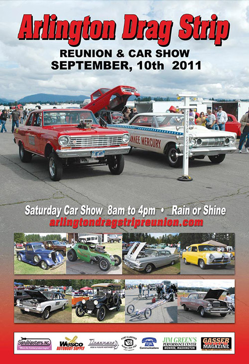 September 10, 2011 Arlington Drag Strip - Reunion and Car Show