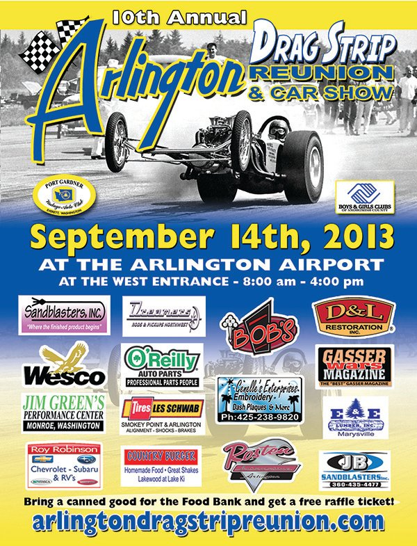 September 14, 2013 - Arlington Drag Strip Reunion