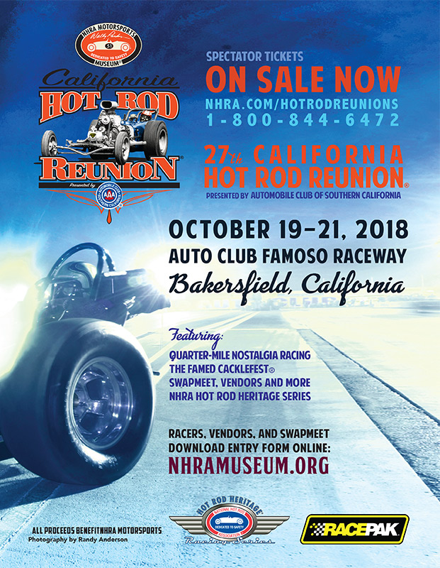 poster of 27th California Hot Rod Reunion