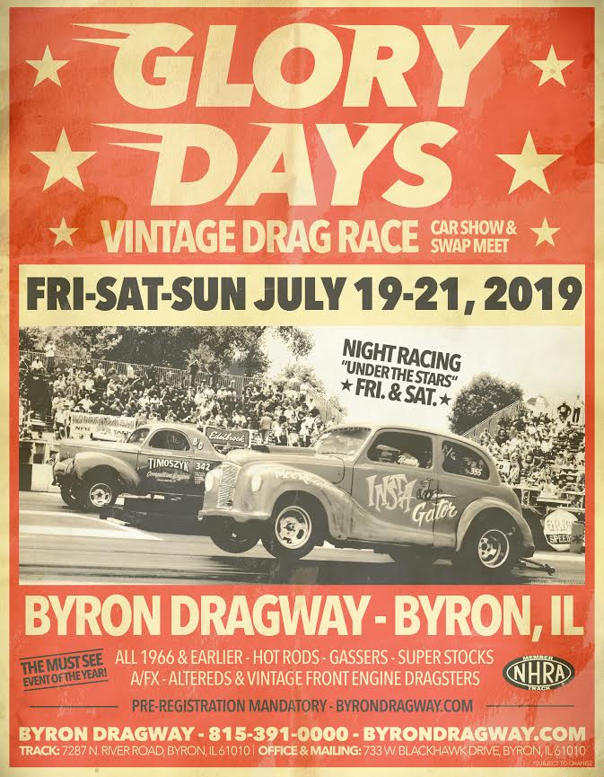 poster of 2019 Glory Days Vintage Drag Race