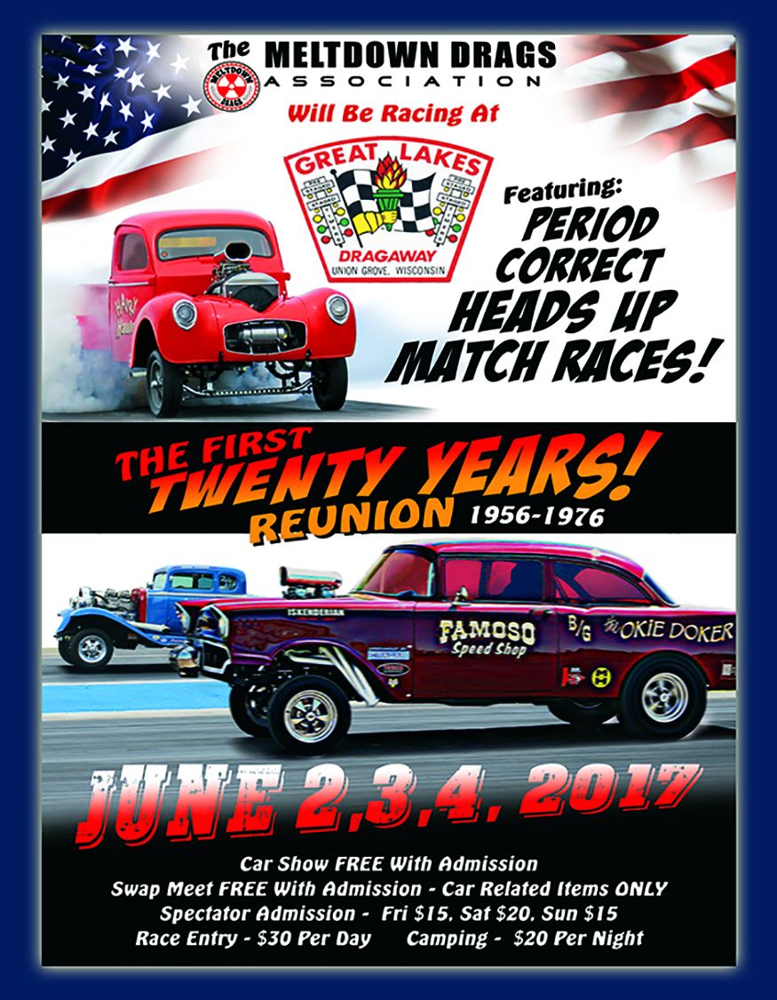 Great Lakes Dragway First 20 Years Reunion '56-'76