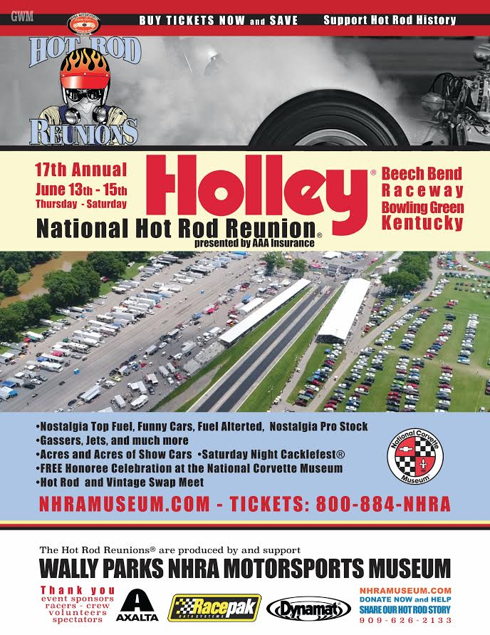 poster of 17th Annual Holley National Hot Rod Reunion