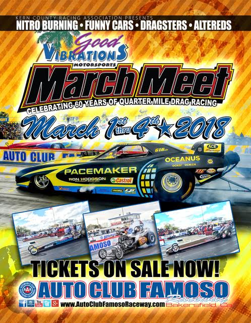 poster of 2018 Good Vibrations Motorsports March Meet