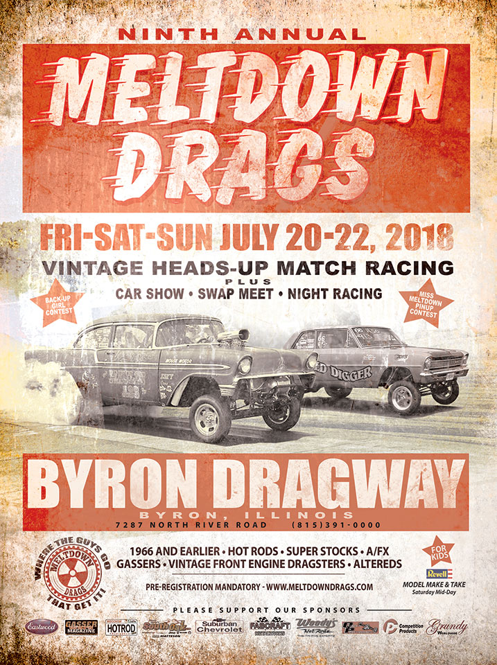 poster of 9th Annual Meltdown Drags