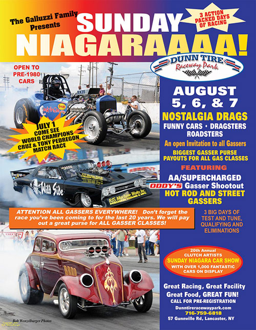 August 5-7, 2011 Nostalgia Drags