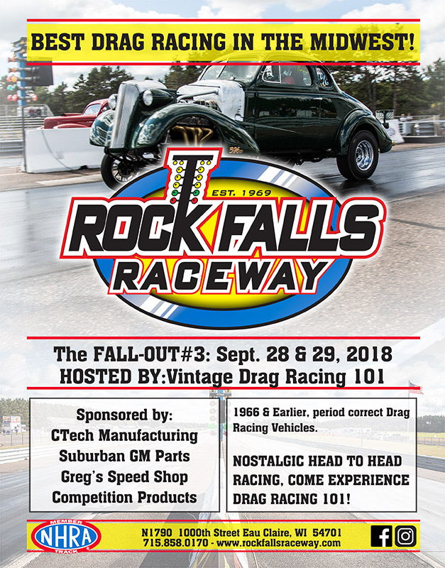 poster of 2018 Rock Falls Raceway Fall-Out #3