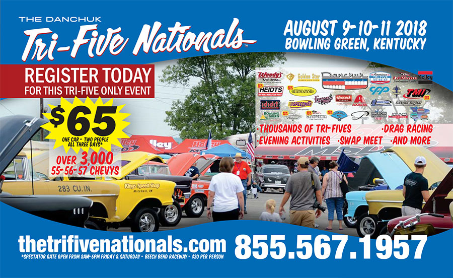 poster of 2018 Tri-Five Nationals