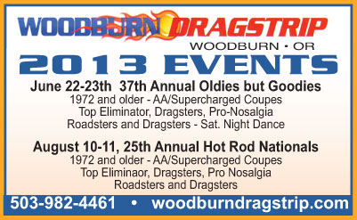 Woodburn Dragstrip 2013 Events